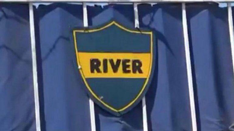 Se llama River y usa la camiseta de Boca: el curioso caso de un club cordobés