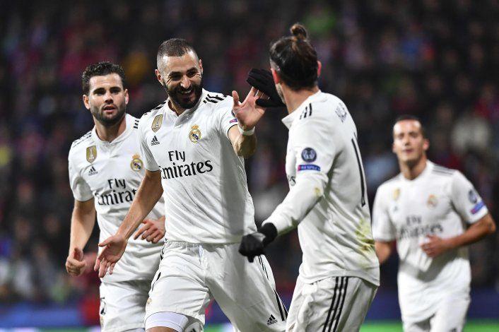 El Real Madrid de Solari ganó 5 a 0 en la Champions
