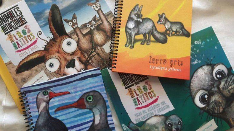 Cuenta regresiva para el tomo III del libro de animales patagónicos