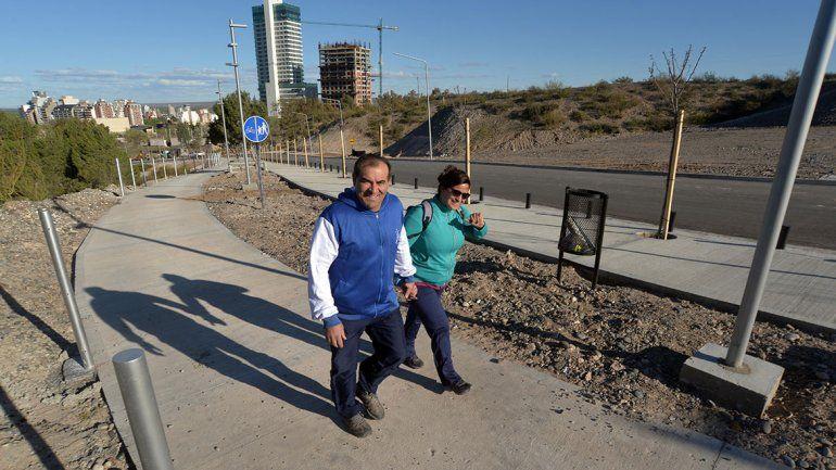 La calle Albardón se abrirá al tránsito el sábado 17