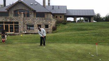 se inicia el neuquen argentina classic de golf en san martin