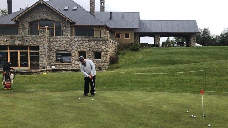 Se inicia el Neuquén Argentina Classic de golf en San Martín