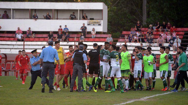 Final al Rojo vivo en la cancha del Deportivo Empate