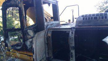 denuncian a mapuches por ataque a la obra del gasoducto cordillerano