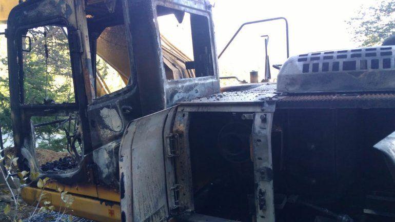 Denuncian ataque vandálico de grupo mapuche en la obra del gasoducto cordillerano