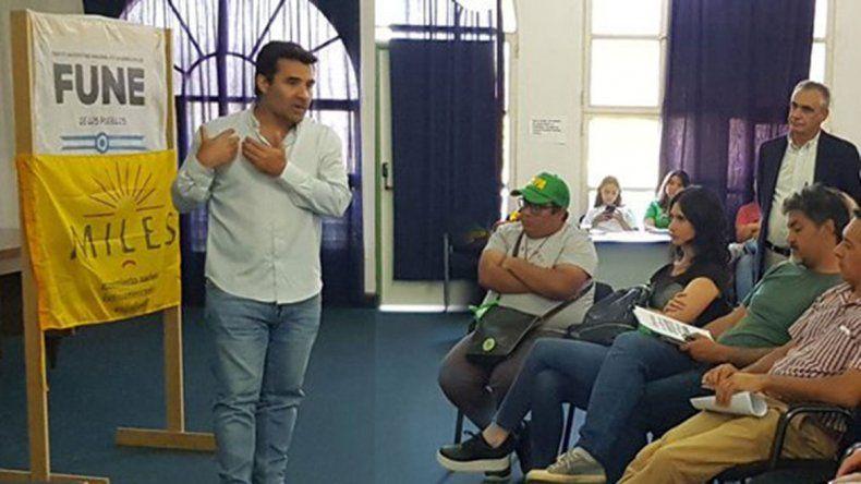 Martínez avaló un proyecto de ayuda a los estudiantes