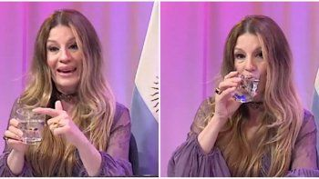 Gisela Barreto explicó con un vaso de agua los peligros del sexo anal