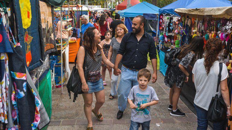 El Encuentro de Artesanos copó el centro de la ciudad