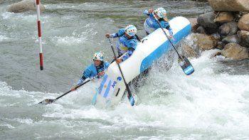 mas oro para los u19 en  el mundial de rafting