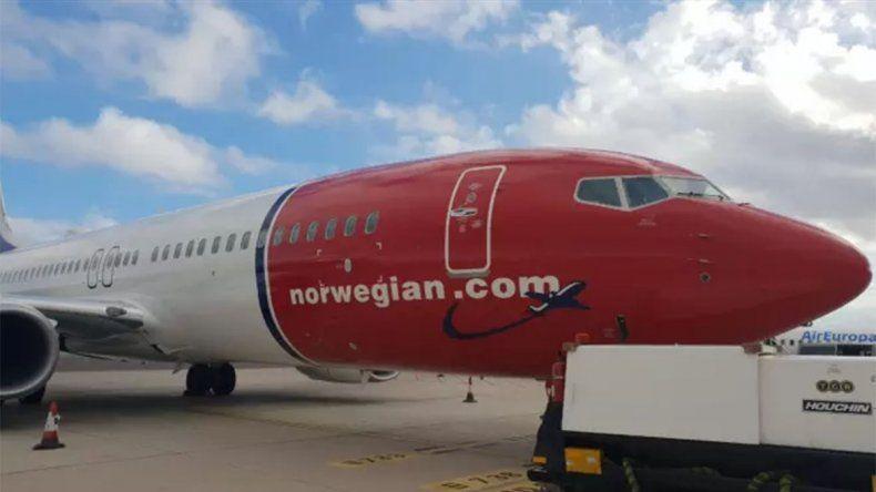 Norwegian Air anunció la llegada del avión que unirá Neuquén y Aeroparque