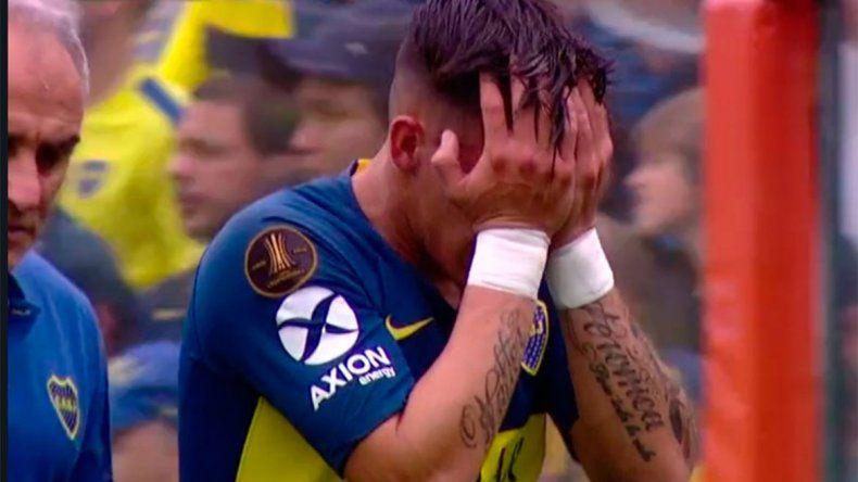 Pavón se lesionó y dejó La Bombonera con un llanto desconsolado