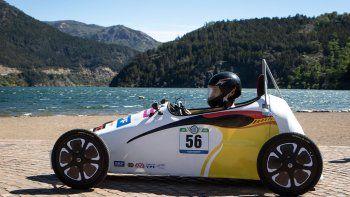 la epet 21 alisto su auto electrico para el desafio eco ypf