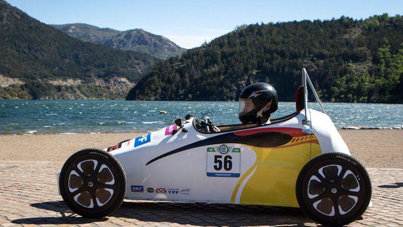 La EPET 21 alistó su auto eléctrico para el Desafío Eco YPF