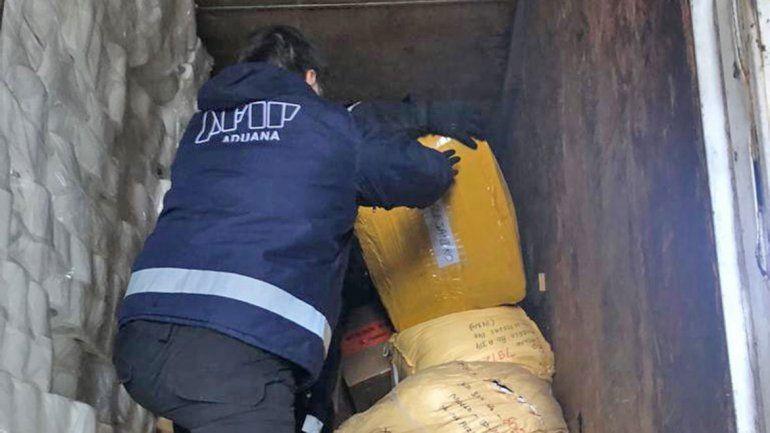 Hallan millonario contrabando en Pino Hachado