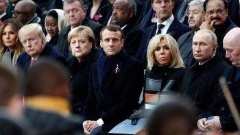 lideres del mundo, en un centenario muy especial