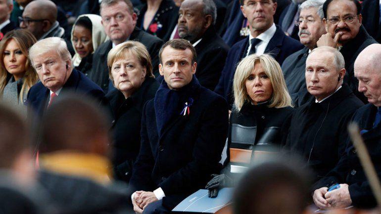 Líderes del mundo, en un centenario muy especial