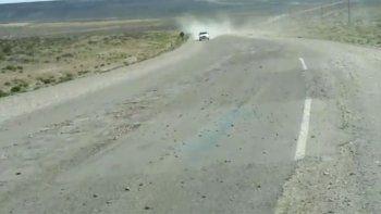 Estremecedor: así está la 40 a kilómetros de Zapala