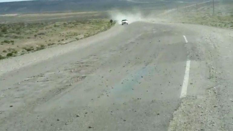 Estremecedor: así está la Ruta 40 a kilómetros de Zapala