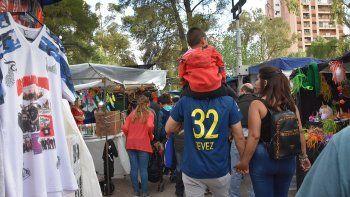 pungas chilenas robaron en la feria de artesanos