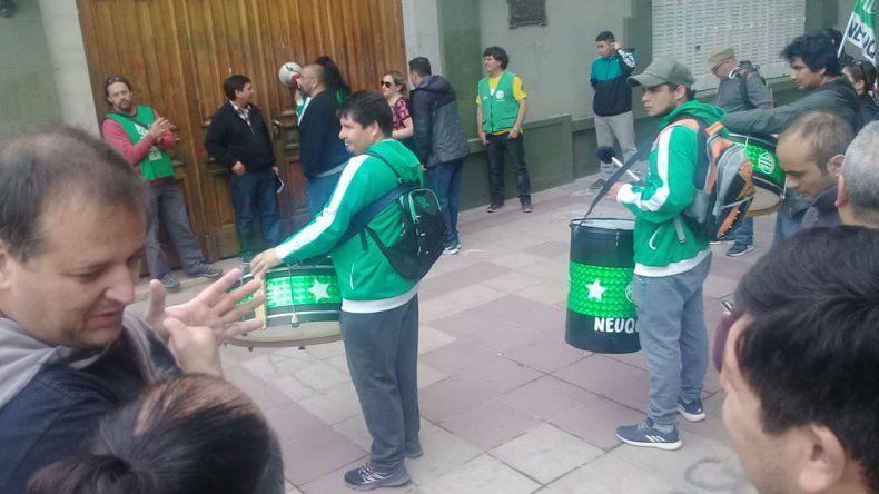 Trabajadores de ATE bloquearon el acceso a la Casa de Gobierno