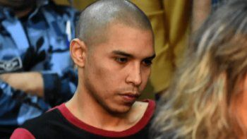 el acusado de asesinar a lucia perez, a los gritos en el juzgado