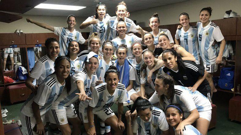 Después de 12 años, la Selección femenina se clasificó al Mundial