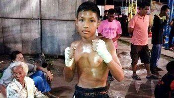 murio un adolescente de 13 anos en un combate de muay thai