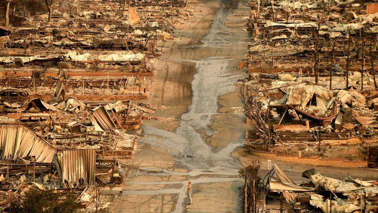 California: el fuego ya se cobró la vida de 50 personas