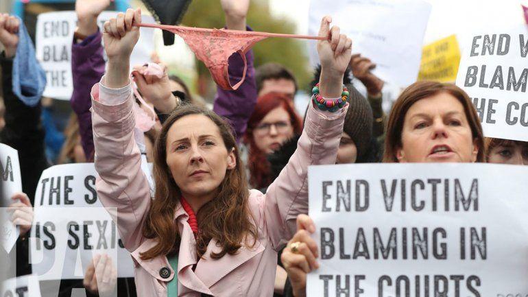 Tangas para repudiar una absolución de violación