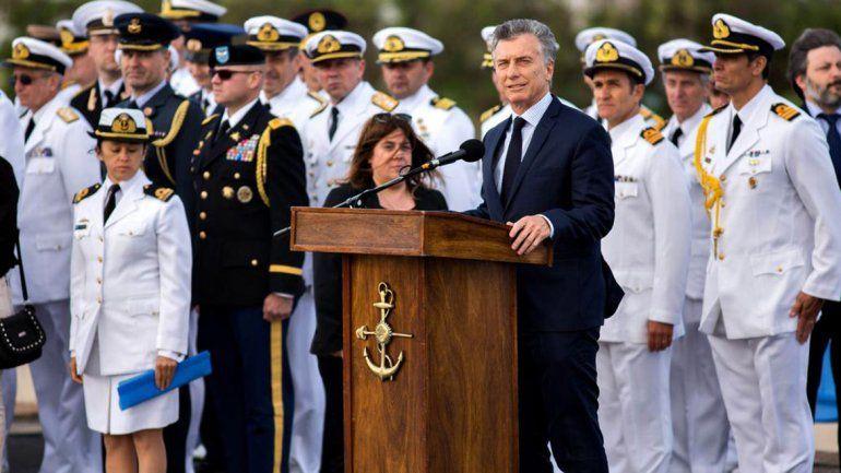 Macri, a un año de la desaparición del ARA San Juan: Vamos a seguir buscando