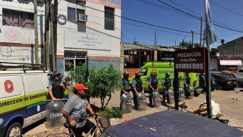 fuego en una comisaria mata a cuatro detenidos