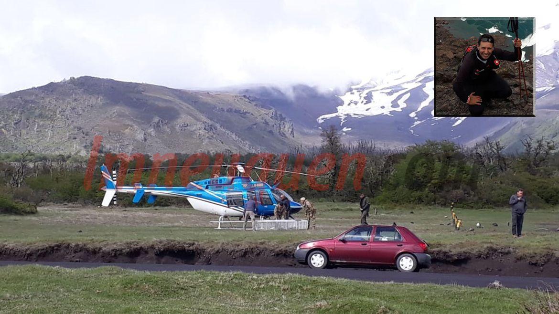 Trágico final: el andinista murió atrapado en la grieta y presumen que fue por hipotermia