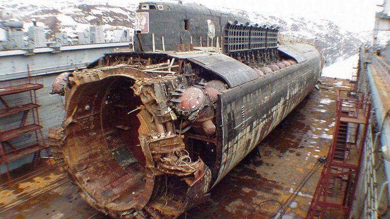 El rescate del submarino ruso Kursk, un antecedente desalentador