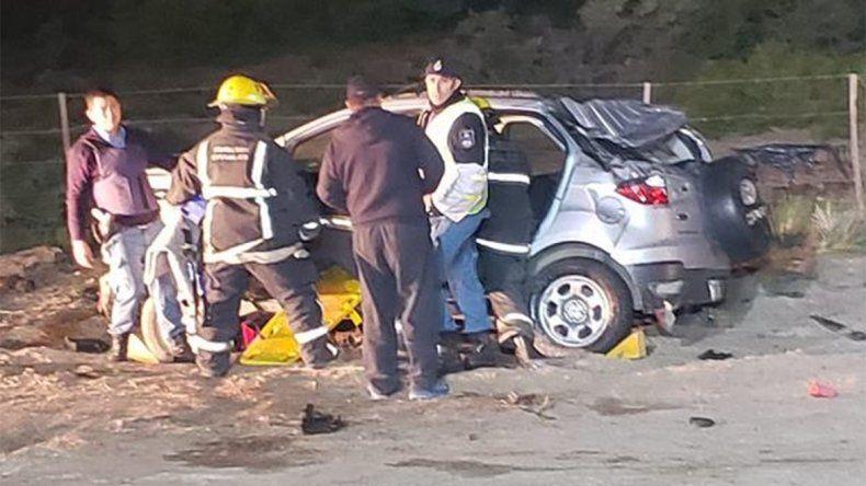 Tragedia en Cutral Co: tres personas murieron calcinadas tras un violento accidente