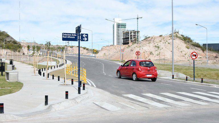 La calle Albardón ya está abierta al tránsito vehicular