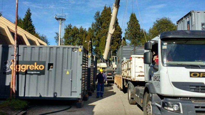 El EPEN sigue con las obras para dar más luz a La Angostura