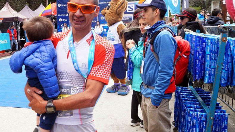Más de 1500 atletas pasaron por el K42 de La Angostura