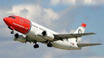llega hoy a neuquen el primer vuelo de norwegian