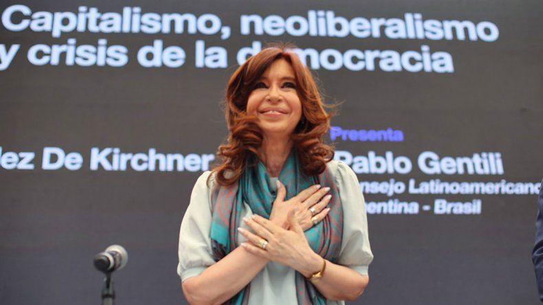 Cristina: No somos la contracumbre, representamos el pensamiento del pueblo