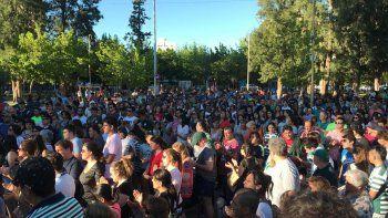 cipolletti: una multitud reclama justicia por joaquin, el rugbier asesinado en un robo