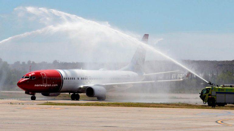 La low cost Norwegian comenzó sus vuelos diarios a Neuquén