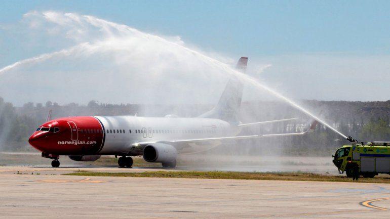 Norwegian también volará directo a Chapelco