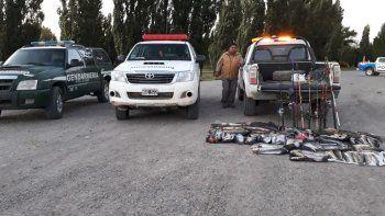picun leufu: secuestraron 150 truchas por pesca ilegal