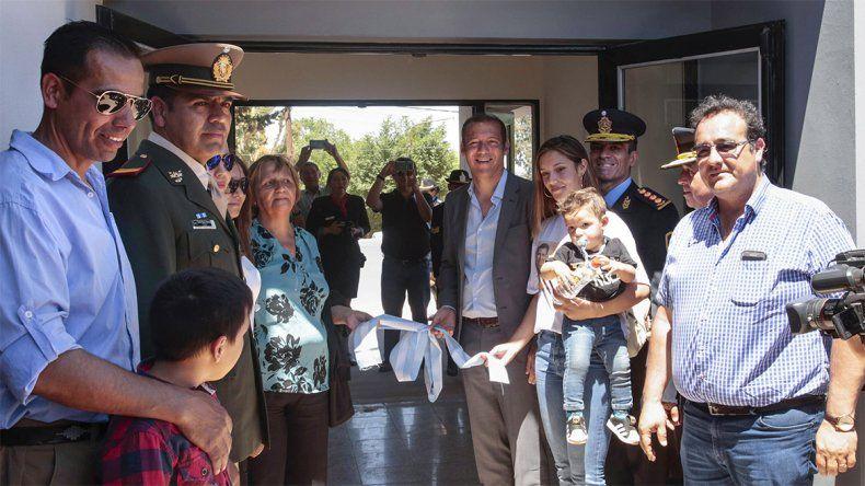 La Comisaría 10 de Añelo tiene nuevo edificio