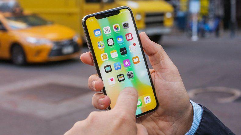 Una falla del iPhone X deja ver imágenes borradas