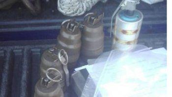 encuentran seis granadas en el vagon de un tren