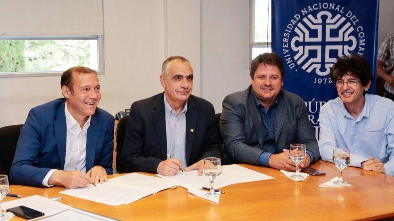 La Provincia firmó un convenio con la UNCo para otorgarle $50 millones en el 2019