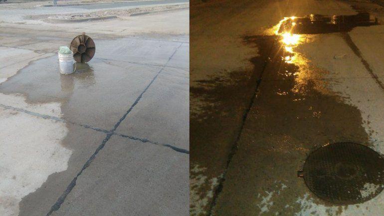 Presentaron un amparo ambiental por un desborde cloacal en San Lorenzo