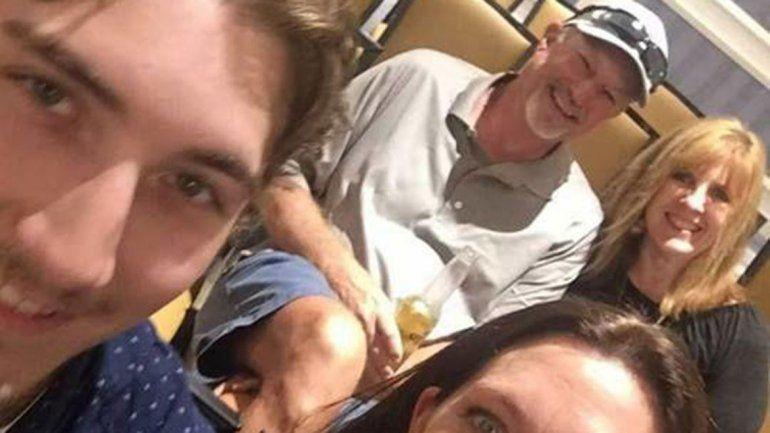 Una selfie le salvó la vida