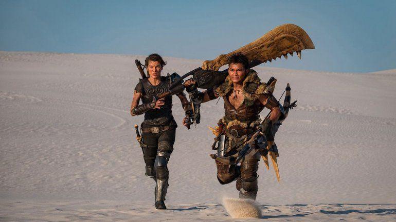 Monster Hunter: primera imagen oficial de la película con Milla Jovovich y Tony Jaa